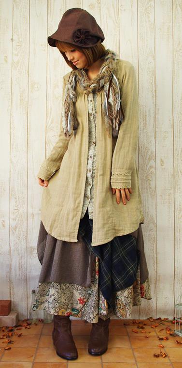 A Look At Mori Girl Fashion Tokyo Fashion Guide