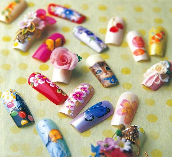 Quick Tips For Dazzling Kawaii Nail Art Tokyo Fashion Guide