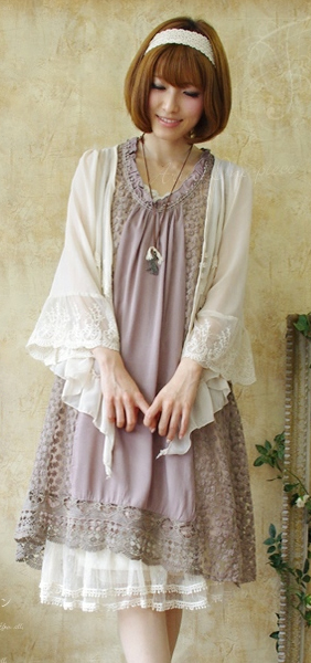 Japanese Fashion Styles: The Mori Girl