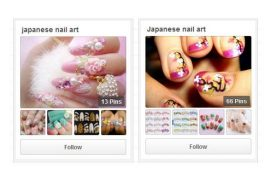 Japanese nail art pinterest boards