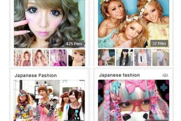 Japanese Pinterest Boards