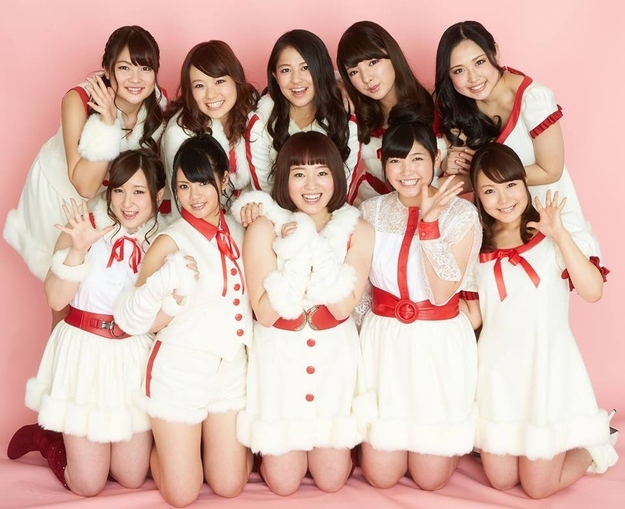 "The Japanese plus size girl group ""Chubbiness""."