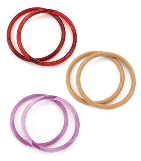 Furoshiki cloth rings ¥500